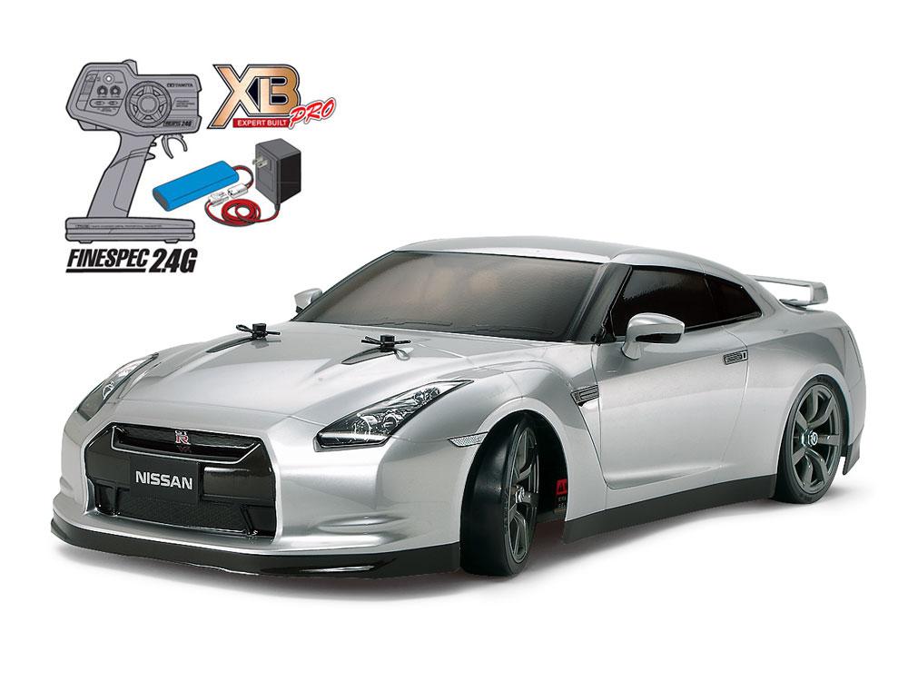 タミヤ XB NISSAN GT-R(TT-01Dシャーシ TYPE-E)ドリフトスペック 57801