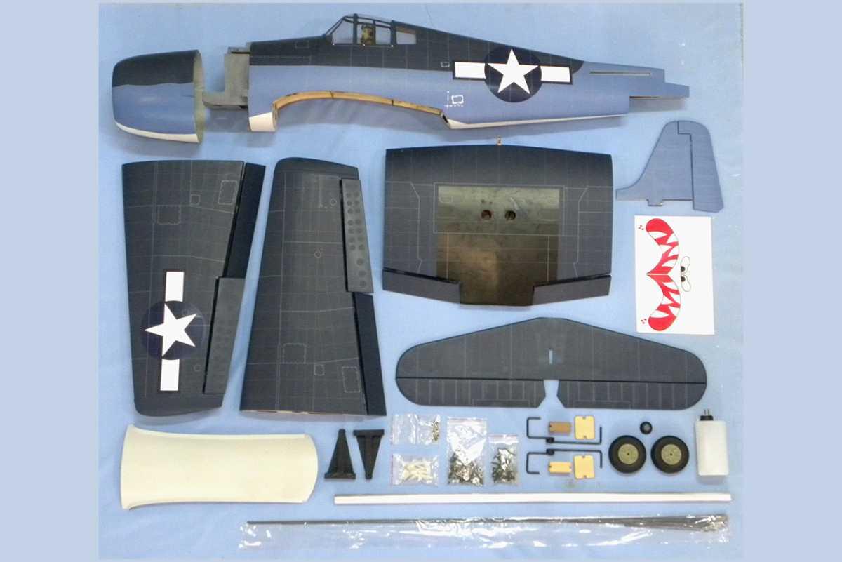 VQ MODELS F6F Hellcat 46 size EP-GP ヘルキャット 両用機