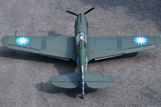 VQ MODELS P-40 AVG 60 size EP-GP フライングタイガース 両用機