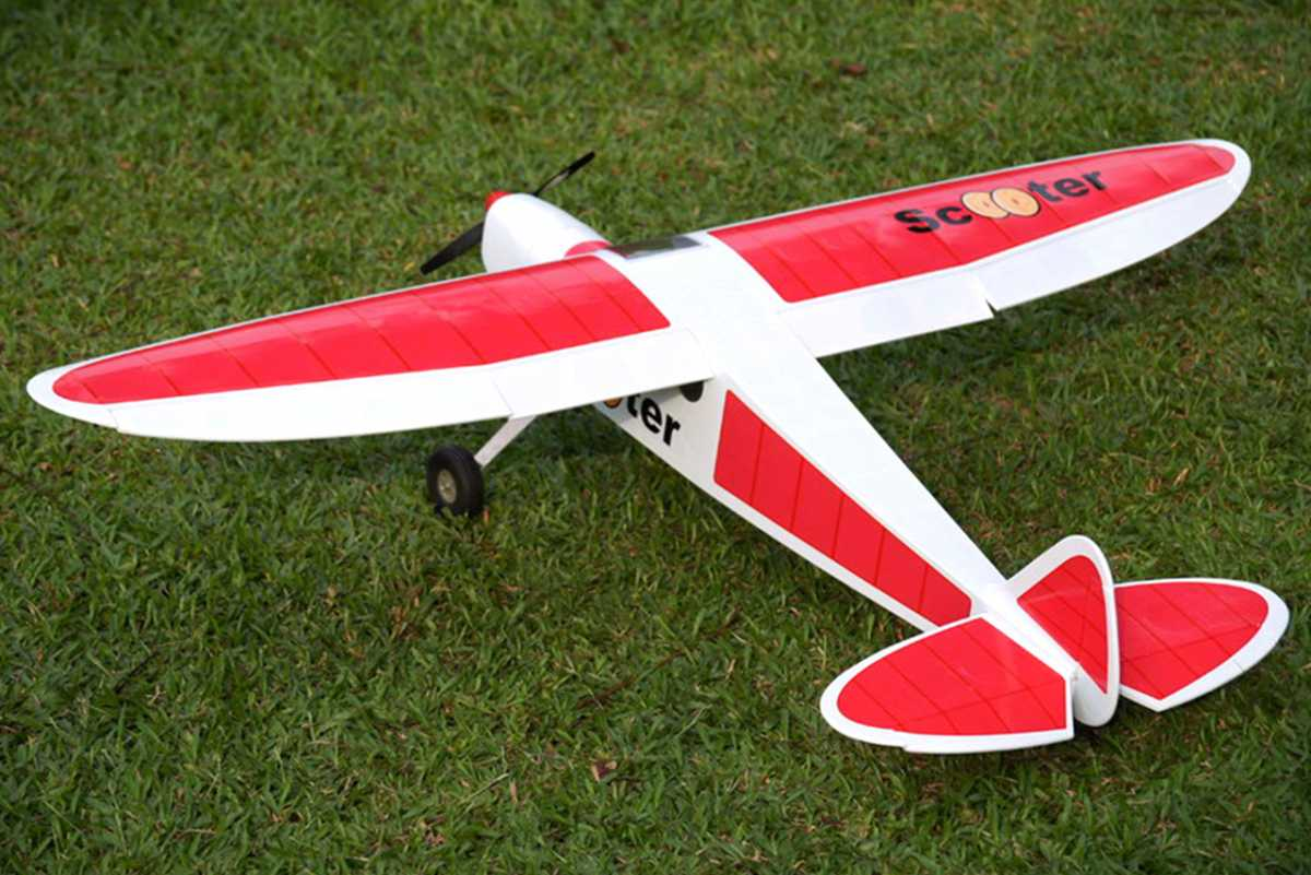 VQ MODELS Scooter-M 46 size EP-GP Red version スクーター 両用機