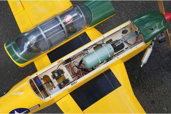 VQ MODELS T-34 Mentor EP-GP 46 size Yellow version メンター 両用機
