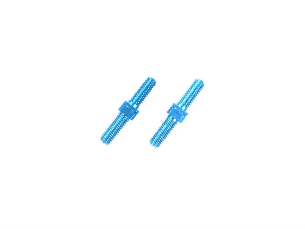 OP.1247 3×18mmアルミターンバックルシャフト(2本)