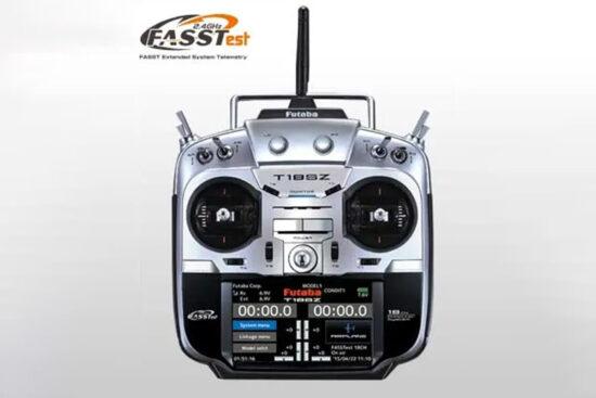 フタバ 18SZ(18ch-2.4GHz FASSTestモデル)ヘリ用 T/Rセット(R7008SB付) 27451