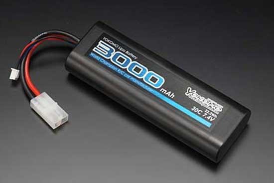 YOKOMO Li-po 3000mAh 7.4V ストレートパック バッテリー