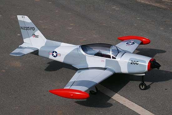 VQ MODELS Siai Marchetti SF 260 - 60 size EP-GP USAF version マルケッティ 両用機