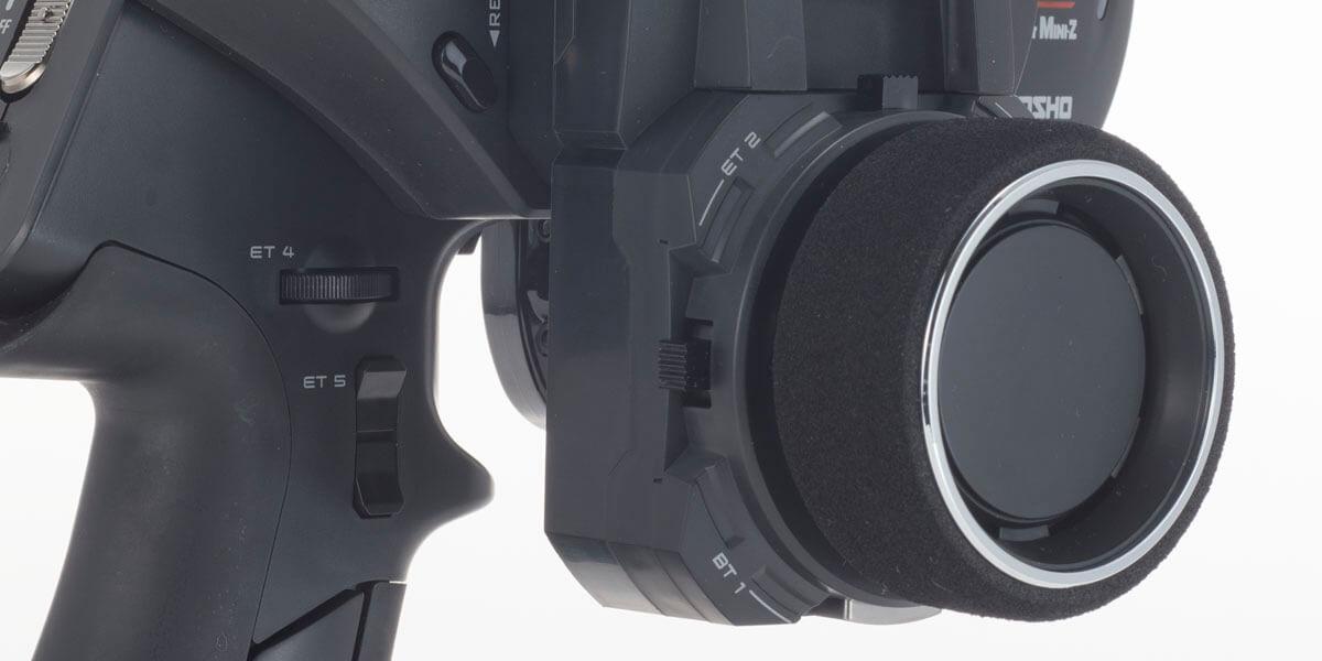 京商 MHS/ASF コンパチブル 2.4GHzシステム送信機 Syncro EX-6R 82031