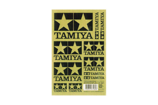 タミヤ ロゴステッカー(ゴールド) 67260