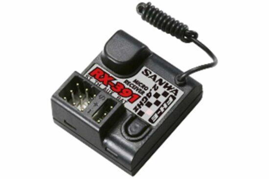 サンワ RX-391 2.4GHz FH-E 3ch 107A41331A