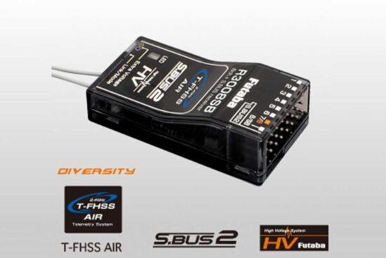 フタバ  R3008SB 2.4GHZ T-FHSS AIR フタバ 空物用受信機 <026416>
