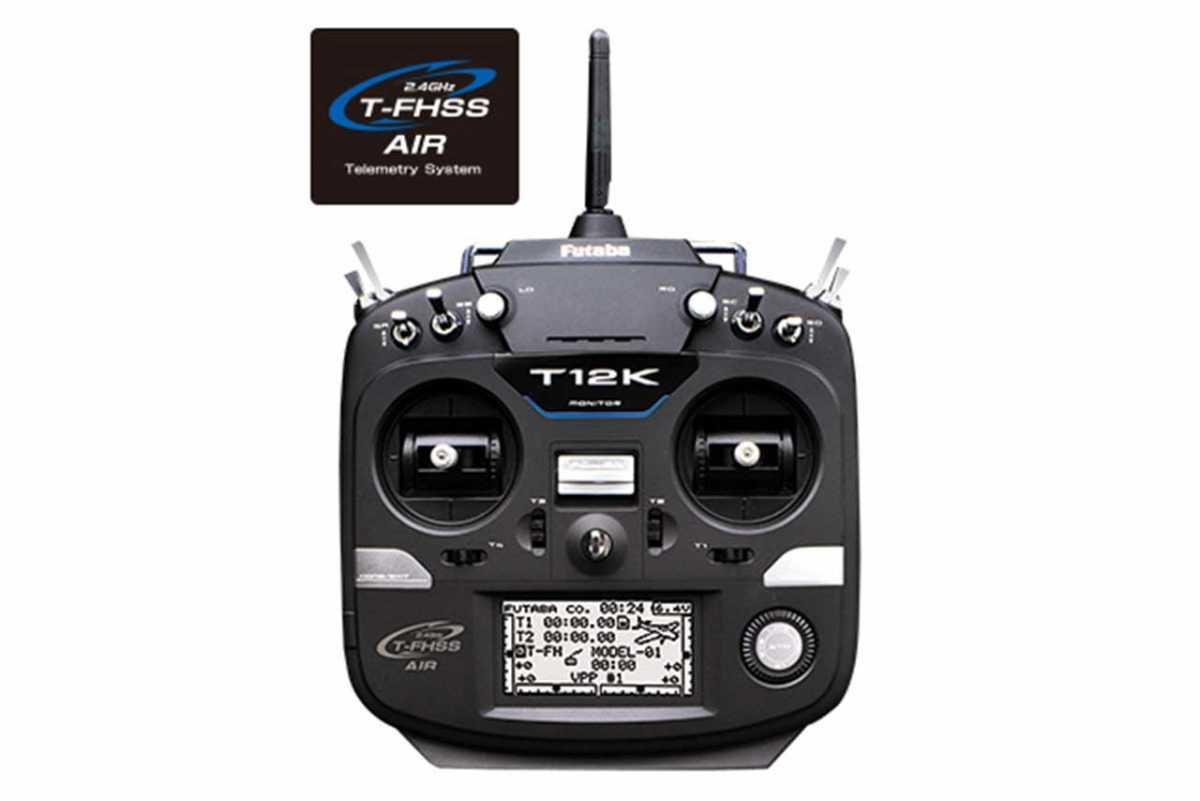 12K(12ch 2.4GHz T-FHSS AIRモデル)