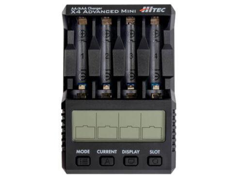ハイテック AA/AAA Charger X4 Advanced Mini[ AA/AAA チャージャー X4 アドバンス ミニ ]ブラック 44293