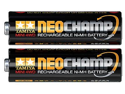 タミヤ ミニ四駆 単3形ニッケル水素電池 ネオチャンプ (2本) 15420