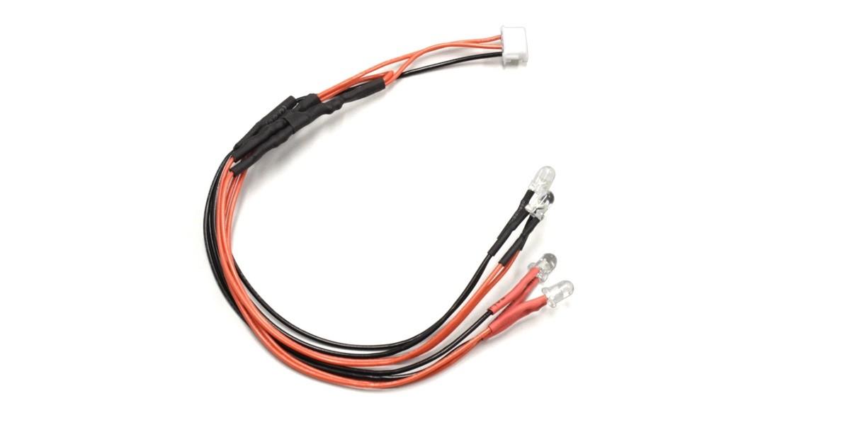 LEDライトユニット クリア&レッド(ICSコネクター用) MZW439R
