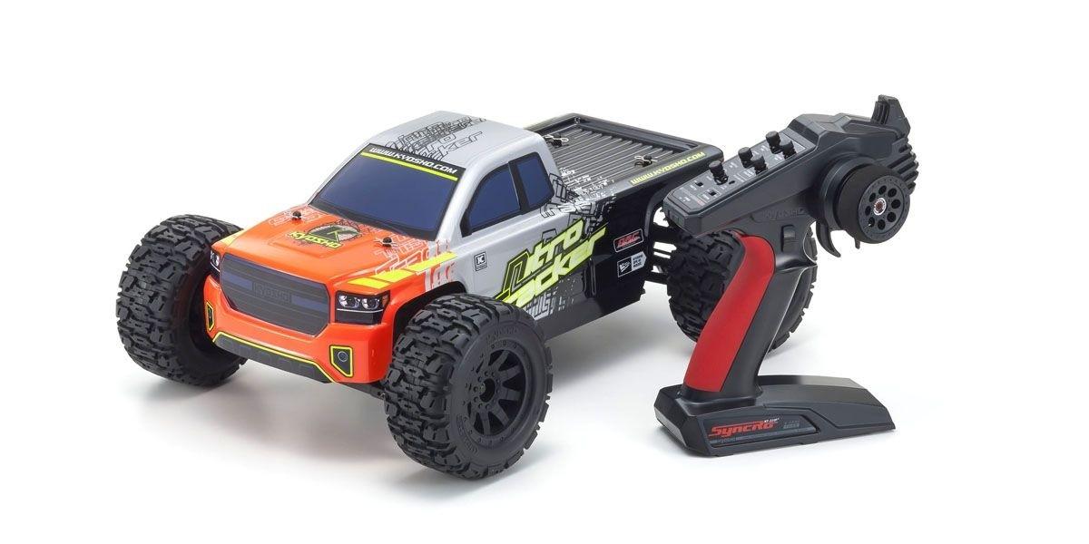 京商 1/10スケール ラジオコントロール 15エンジン 4WD QRCシリーズ レディセット ニトロトラッカー KT-231P+付 33101