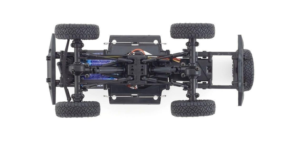 京商 電動 クローリングカー ミニッツ4×4シリーズ レディセット トヨタ 4ランナー(ハイラックスサーフ) ダークグレーメタリック 32522GM