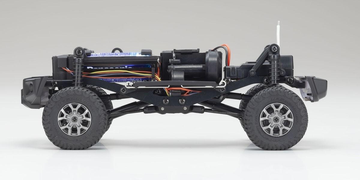 京商 電動 クローリングカー ミニッツ4×4シリーズ レディセット スズキ ジムニーシエラ キネティックイエロー 32523Y
