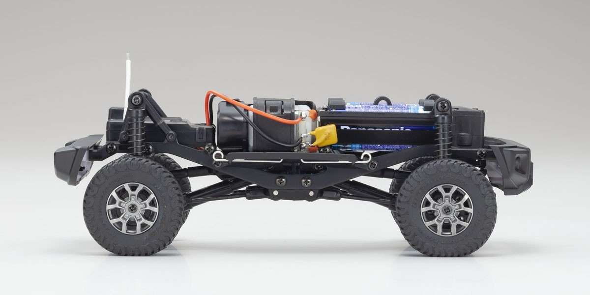 京商 電動 クローリングカー ミニッツ4×4シリーズ レディセット スズキ ジムニーシエラ ジャングルグリーン 32523GR