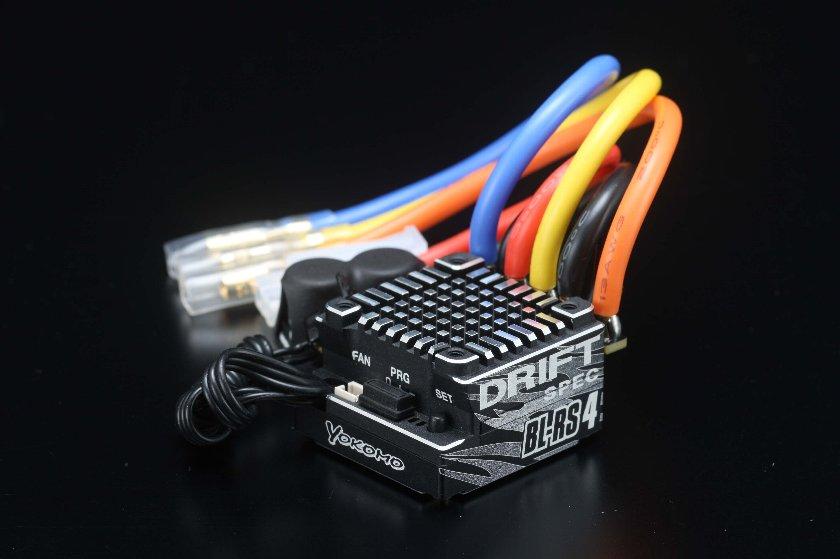 ヨコモ ドリフトスペック ブラシレス スピードコントローラ BL-RS4D