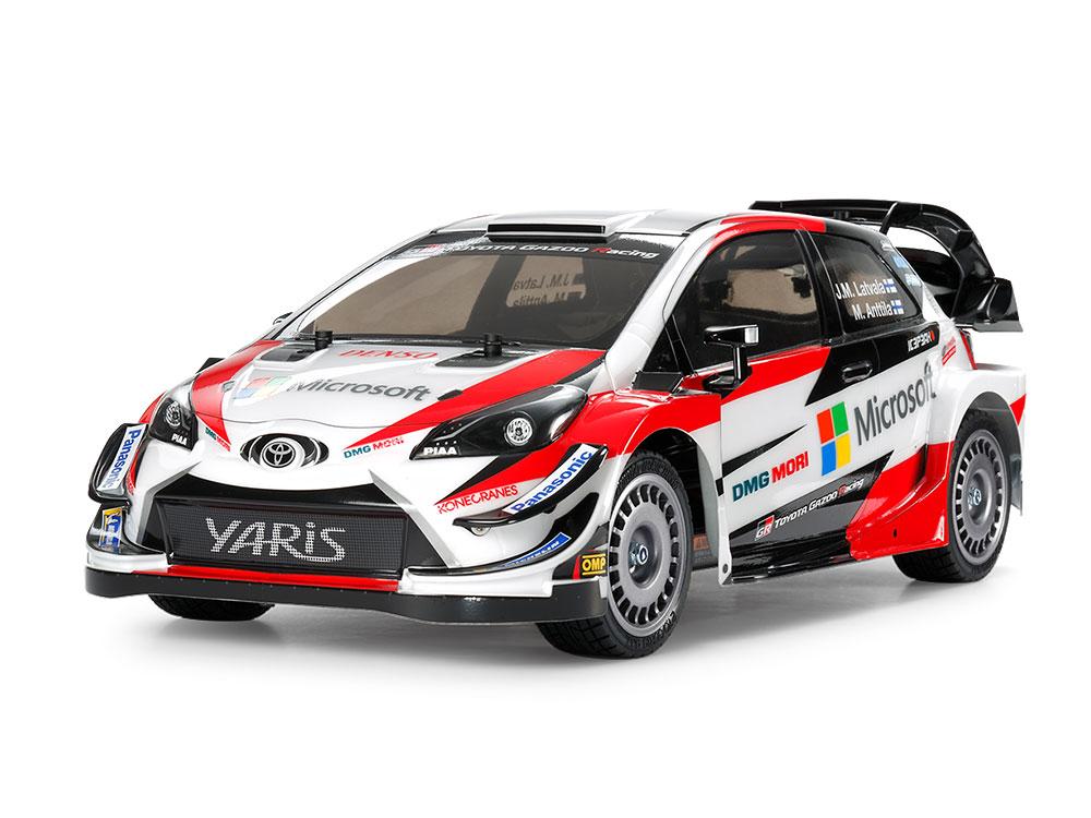 タミヤ 1/10RC トヨタ ガズー レーシング WRT/ヤリス WRC(TT-02シャーシ) 58659