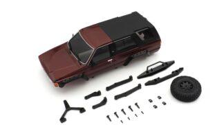 京商 MX-01 トヨタ 4ランナー ボディセット メタリックレッド MXB02MR