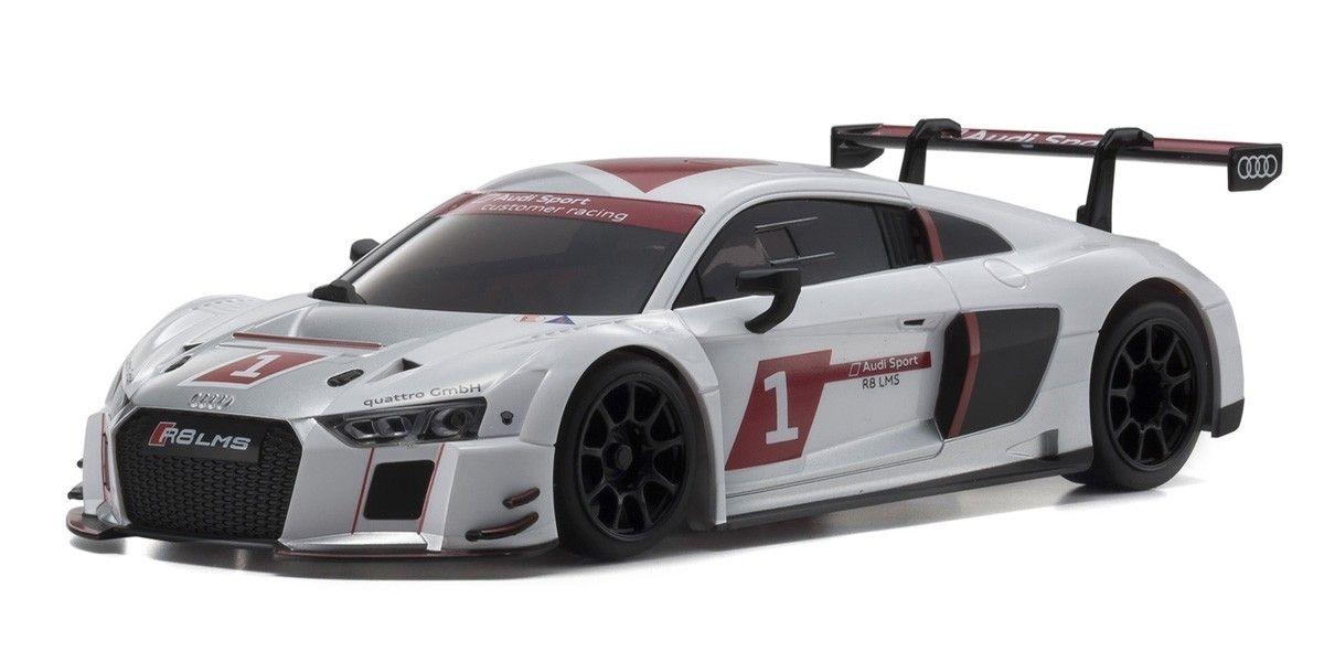京商 ASC MR03RWD Audi R8 LMS アウディスポーツ 2015 MZP234AS