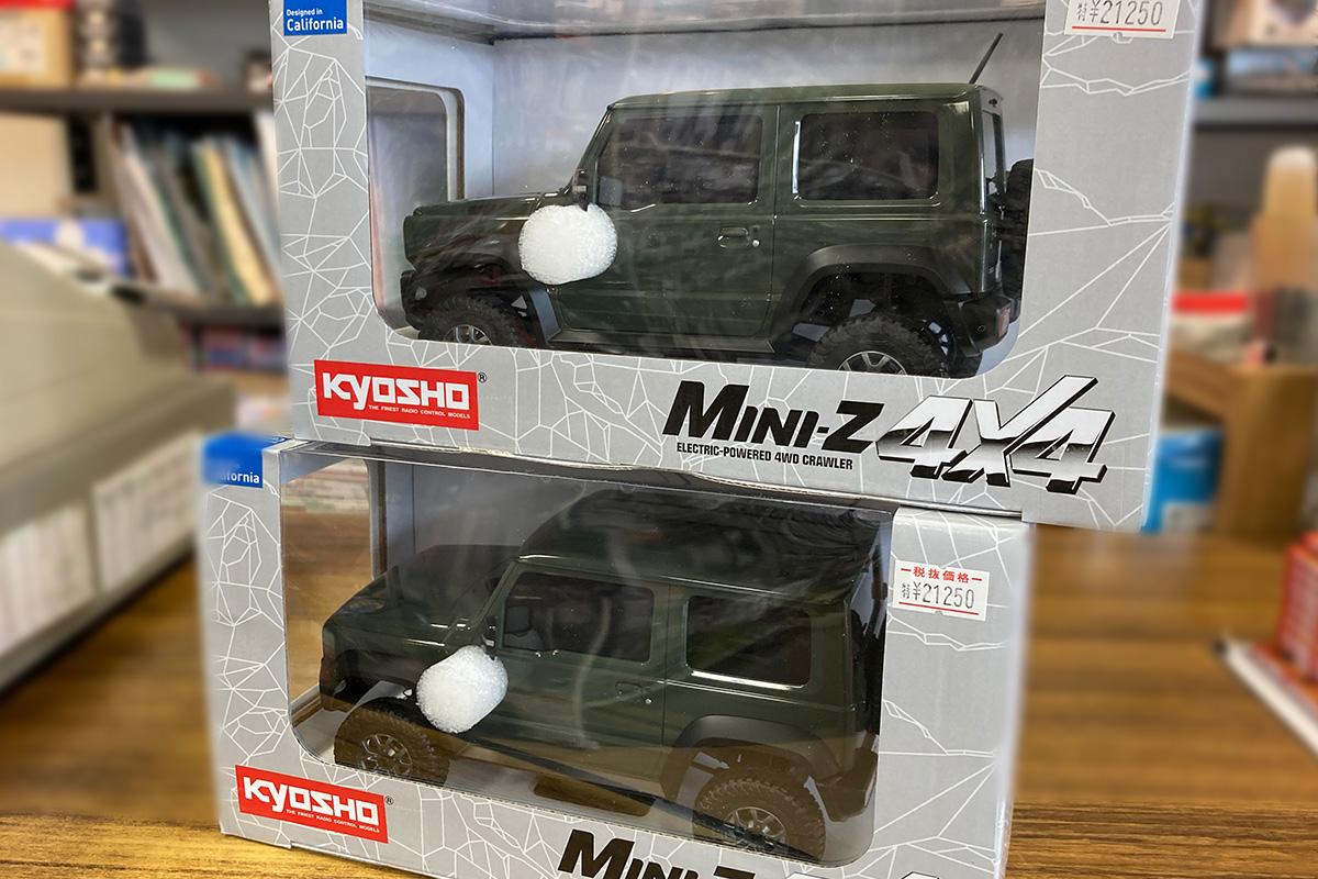 ミニッツ4×4シリーズ レディセット スズキ ジムニーシエラ ジャングルグリーン 32523GR 再入荷しました