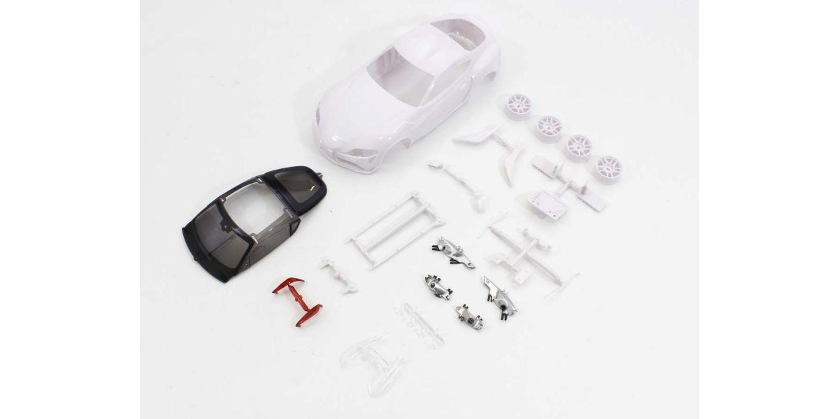 京商 トヨタ GR スープラ ホワイトボディセット未塗装ホイル付 MZN202