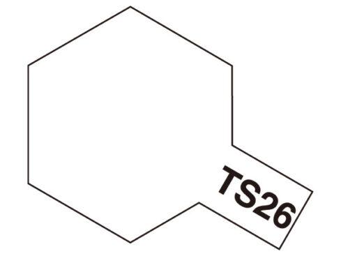 タミヤ TS-26 ピュアーホワイト  85026