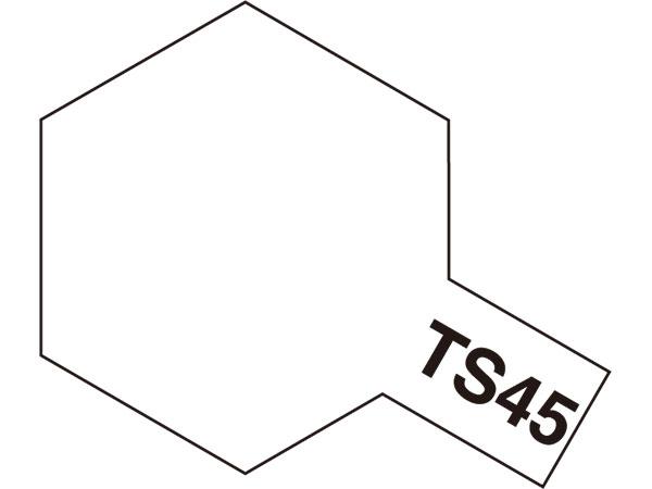 タミヤ TS-45 パールホワイト  85045