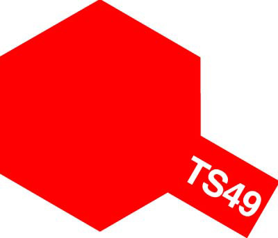 タミヤ TS-49 ブライトレッド  85049