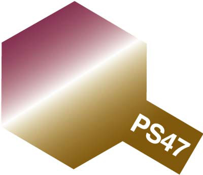 タミヤ PS-47 偏光ピンク/ゴールド 86047