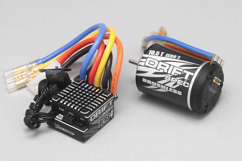 ヨコモ BL-RS4D/BL105D ドリフトスペック ブラシレスコンボ BL-R4105D
