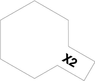タミヤ タミヤカラーアクリルミニ X-2 ホワイト 81502
