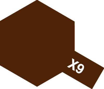 タミヤ タミヤカラーアクリルミニ X-9 ブラウン 81509