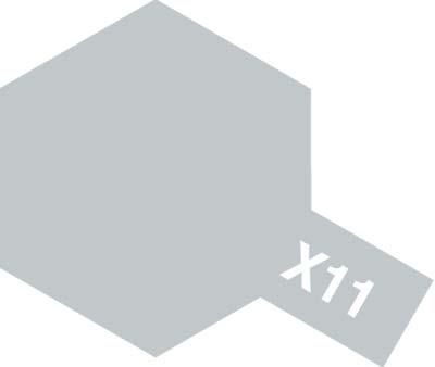 タミヤ タミヤカラーアクリルミニ X-11 クロームシルバー 81511