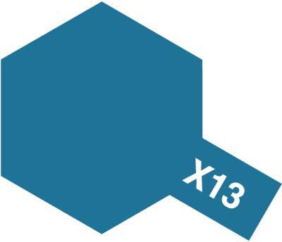 タミヤ タミヤカラーアクリルミニ X-13 メタリックブルー 81513