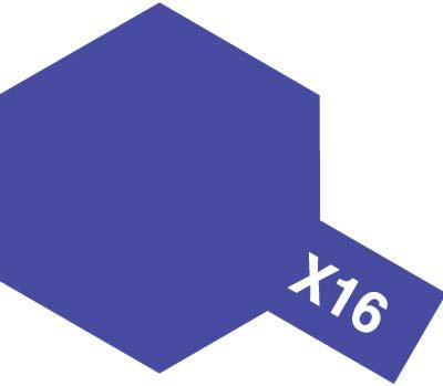 タミヤ タミヤカラーアクリルミニ X-16 パープル 81516
