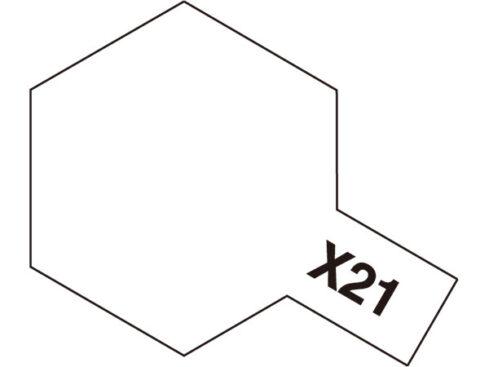 タミヤ タミヤカラーアクリルミニ  X-21 フラットベース 81521
