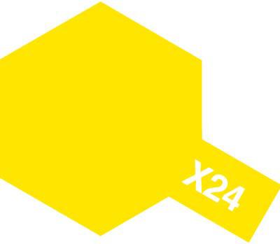 タミヤ タミヤカラーアクリルミニ X-24 クリヤーイエロー 81524