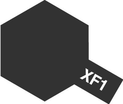 タミヤ タミヤカラーアクリルミニ XF-1 フラットブラック 81701
