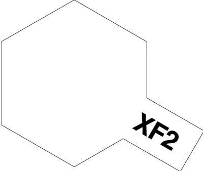 タミヤ タミヤカラーアクリルミニ  XF-2 フラットホワイト 81702
