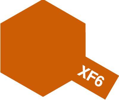 タミヤ タミヤカラーアクリルミニ  XF-6 コッパー 81706