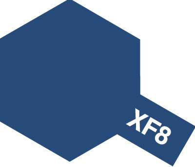 タミヤ タミヤカラーアクリルミニ  XF-8 フラットブルー 81708