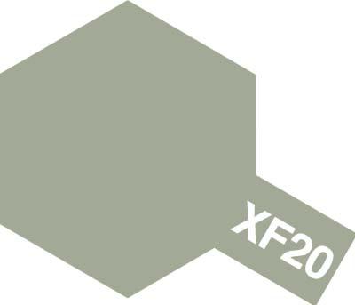 タミヤ タミヤカラーアクリルミニ  XF-20 ミディアムグレイ 81720