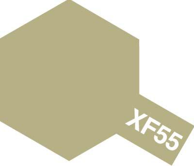 タミヤ タミヤカラーアクリルミニ XF-55 デッキタン 81755