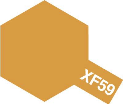 タミヤ タミヤカラーアクリルミニ XF-59 デザートイエロー 81759