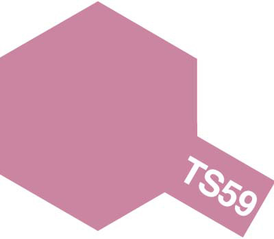 タミヤ TS-59 パールライトレッド  85059