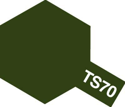 タミヤ TS-70 OD色(陸上自衛隊)  85070