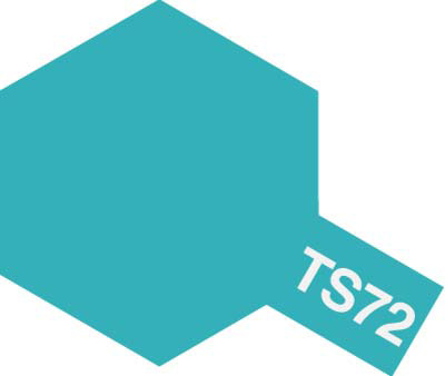 タミヤ TS-72 クリヤーブルー  85072