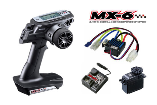 サンワ MX-6 <BL-SIGMA/SRM-102Z> RX-391(FH-E) ESC/BL-SIGMA SRM-102Z 101A32512A